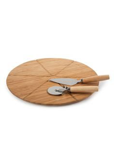 The Ultimate Pizza Set (3 PC) by Core Bamboo at Gilt