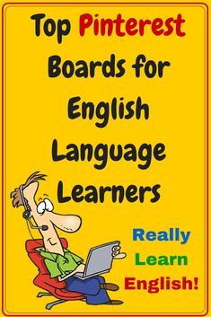 Top Pinterest Boards for English Language - You should definitely check these out!