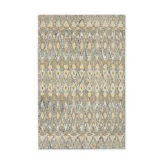 Textured Ikat Wool Rug