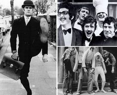 """Always hilarious John Cleese and the """"Monty Python"""" bunch, sometimes called the Pythons (don't forget to watch """"Ministry of Silly Walks"""" video):"""