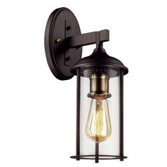 Trenton 1-Light Outdoor Wall Lantern & Reviews | Joss & Main