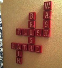 """Bathroom....especially the """"aim"""" part!!"""