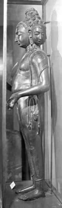 Brahma.  One of the few surviving Hindu Gupta bronzes.
