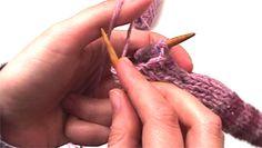 Πλέξιμο - Πως να πλέξεις κουμπότρυπα