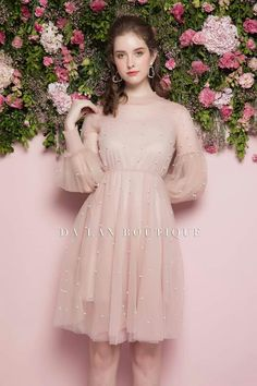 Pin by Cynthia Valenzuela on Fashion in 2019 15 Dresses, Cute Dresses, Bridal Dresses, Beautiful Dresses, Evening Dresses, Fashion Dresses, Pink Outfits, Dress Outfits, Dress Up