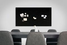Jazz up your meeting room with Acoustic Pinboard, both functional and stylish.