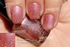 Steph Closet Sally Girl Pink Holographic Nail Polish