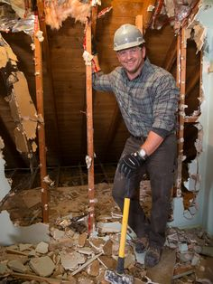 Tune in to the all-new show Sledgehammer every Wednesday 10/9c to see Jason's demolitions and renovations.