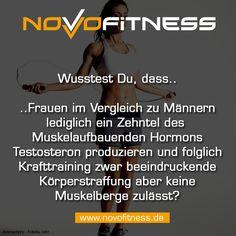 Frauen haben nur ein Zehntel Testosteron wie Männer und haben es deswegen schwerer Muskeln aufzubauen aber können dennoch beachtliche Körperstraffung und Körperformung erzielen.