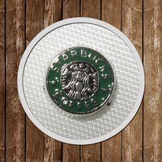 4 Starbucks Floating Charms memory locket  by GCFindings on Etsy