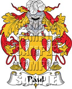 Paul Family Crest apparel, Paul Coat of Arms gifts