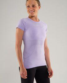 lilac Run: Swiftly Tech Short Sleeve size 8