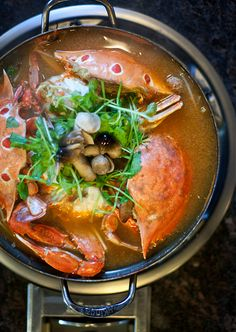 REBLOGGED - Korean Crab Stew
