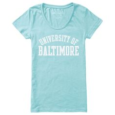 UB Bookstore | RED SHIRT LIMITED EDITION WOMENS SCOOP TSHIRT University of Baltimore