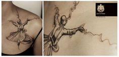 #whirling #dervish #customized #design #tattoo #leotattoos #matunga #Mumbai #India