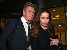 """The wife of celebrity chef Gordon Ramsay has told a judge of her """"extremely distressing"""" discovery that her father and brother were """"systematically defrauding"""" her husband."""