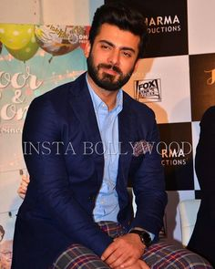 @BOLLYWOOD  Close up of Fawad Khan at Kapoor & Sons Success meet last night. Fawad Khan looks super Hot with his beard. He chose to have a shaved look for Kapoor & sons to look young but now he is back to his usual sexy look.  #fawad #fawadafzalkhan #Fawadfever #fawadkhanstyle #bollywood  #stylefile  #india  #celebrity  #checkpants #blueblazer #blue #blueshirt  #kapoorandsons  #AliaBhatt  #siddharthmalhotra #mumbai #india #lahore  #karachi  #pakistan #islamabad #dubai #peshawar #punjan…