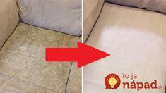 Trik tejto mamičky valcuje internet: Stačí 10-minút a vyčistí to aj veľmi špinavú sedačku, rozdiel je ohromný! Tile Floor, Internet, Flooring, Texture, Rugs, Crafts, Home Decor, Homemade Home Decor, Surface Finish