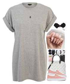 """No. 677"" by thugpassionnn ❤ liked on Polyvore featuring MAC Cosmetics, Michael Kors, River Island, Vans and Vanessa Mooney"