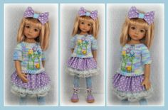 """Spring Outfit for Little Darlings Effner 13"""" by Maggie Kate Create 