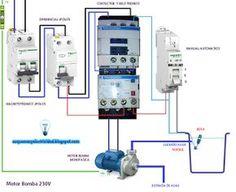 Esquemas eléctricos: Motor bomba 230V