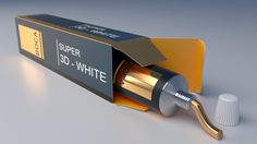 Render 3D toothpaste package template, Blender 3D, Photoshop cycles render, 3d model , mokup http://www.thiagobulhoes.com/
