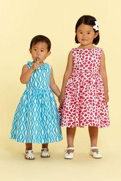 The most precious Oscar de la Renta dresses for your toddler.