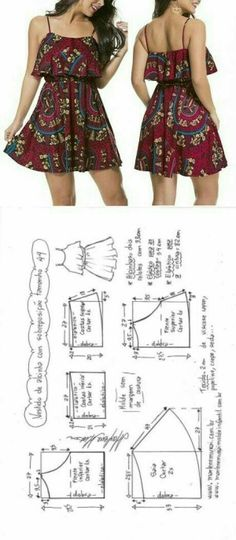 Amazing Sewing Patterns Clone Your Clothes Ideas. Enchanting Sewing Patterns Clone Your Clothes Ideas. Sewing Dress, Dress Sewing Patterns, Diy Dress, Sewing Clothes, Clothing Patterns, Sewing Shorts, Skirt Patterns, Fashion Sewing, Diy Fashion