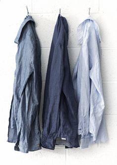 Spring 2014 blues, polka dot and stripe shirts | men's style