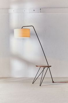 12 Editor-Approved Urban Outfitters Items That Look High-Design Floor Lamp With Shelves, Arc Floor Lamps, Urban Outfitters, Pedestal Side Table, Round Shelf, Farmhouse Lamps, Woven Shades, Living Comedor, Higher Design