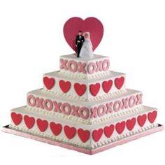 WEDDING CAKES: Love Wedding Cakes To Valentine's Day