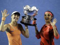Hingis, Mirza win Australian Open doubles title - http://yodado.co.za/hingis-mirza-win-australian-open-doubles-title/