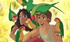 Strangers like me (Tarzan genderbent) by Fonora.deviantart.com on @deviantART