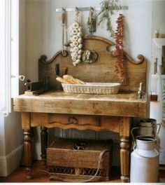 great working space in the kitchen