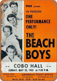 Beach Boys Cobo Hall USA Vintage Music Concert posters canvas printing wall decor home decor printable prints art print photo magnet Gig Poster, Poster Prints, Art Print, Graphic Posters, Poster Boys, Rock Posters, Band Posters, Event Posters, Hippie Posters