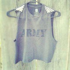 crop top shirt diy idea.
