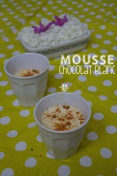 Mousse au chocolat blanc !