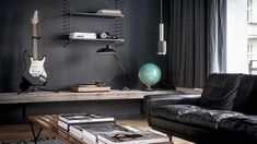 Edgy luxury apartment equipped with statement furniture pieces and signature interior design - HomeWorldDesign (7)