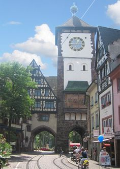 Freibourg, Germany. Beautiful place