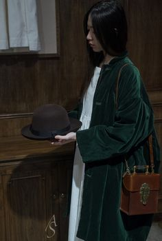 Autumn Sonata A/W15 Lookbook   Hat: Margaret Howell   Coat&Dress: Casey Casey   Bag: Munoz Vrandecic
