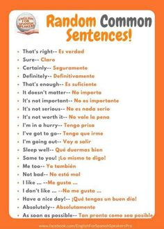Looking for usual sentences in Spanish? Have a look at these Looking for usual sentences in Spanish? Have a look at these Looking for usual sentences in Spanish? Have a look at these Looking for usual sentences in Spanish? Have a look at these Spanish Help, Spanish Practice, Spanish Notes, Spanish Lessons For Kids, Learn To Speak Spanish, Spanish Basics, Spanish Lesson Plans, Words In Spanish, Common Spanish Phrases