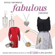 Style Yourself Fabulous for a chance to #WIN the entire #Silpada Romance Collection: http://cot.ag/RdFrMP #Contest #Giveaway #Jewelry #Sterling #Silver