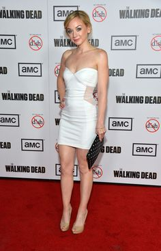 """Emily Kinney - Premiere Of AMC's """"The Walking Dead"""" 3rd Season - Arrivals"""