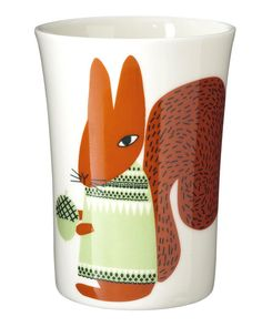 Squirrel Cup by Donna Wilson @Amanda Snelson Snelson Snelson Snelson @ Artsy Modern