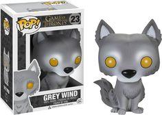 La figurine pop Vent Gris en détails : notez, commentez et parlez de Vent Gris avec les autres membres. Où acheter ou trouver la figurine Vent Gris de la collection Game of Thrones.