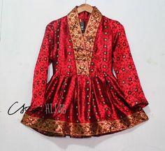 kutu baru peplum  kebaya  Pinterest  Kebaya Batik dress and Brokat