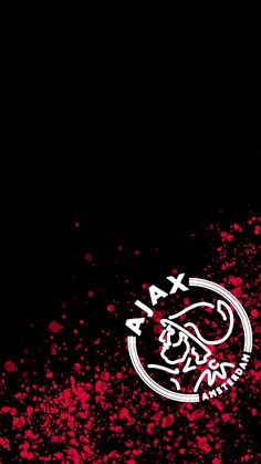 Ajax 2019 soccer/ football logo iphone 8 wallpaper in red, black and white. Iphone Wallpaper Glitter, Wallpaper Iphone Disney, Galaxy Wallpaper, Flower Wallpaper, Amsterdam Wallpaper, Rose Gold Backgrounds, Black And White Wallpaper, Football Wallpaper, Trendy Wallpaper