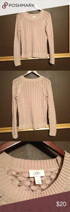 Loft Sweater This sweater has a beautiful pattern. Super cozy and stylish. LOFT Sweaters