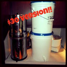 DIY Berkey water filter for $30 | The Crunchy Delinquent Blog