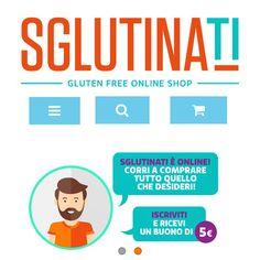 Da Desktop o da Mobile vai su www.sglutinati.it! Iscriviti e ricevi 5€ da spendere sul nostro store e gustare i prodotti #senzaglutine! Scegli #sglutinati,lo Shop online del #glutenfree  #commerce #ecommerce #foodglutenfree #foodglutenfree #sglutinati